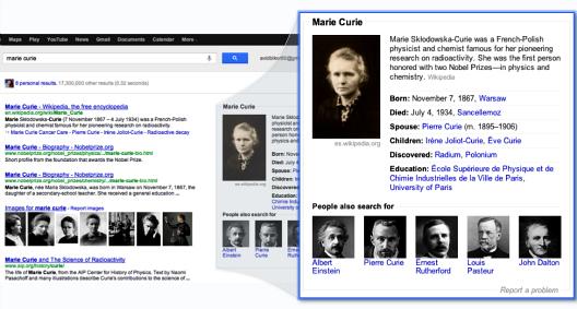 Con el Gráfico del conocimiento, Google está cada vez más cerca de la inteligencia artificial