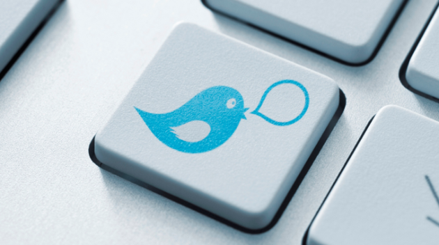Twitter red microblogging