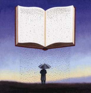 lluvia de libro